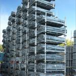 P1, P2 en P3 palen voor geleiderailconstructies