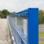 Steel Safety Railing met gaas