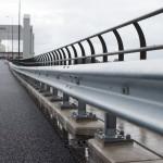 Steel Safety Guard op brug